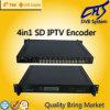 4 in 1 MPEG4/H. 264 Sd Kodierer mit Asi, IP gaben aus (HT101-15)