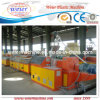 Ligne de machine de production de profil de PVC Windows de WPC