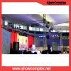 Showcomplex P3 im Freienled-Bildschirmanzeige