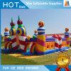 Puente inflable al aire libre del castillo del encerado del acontecimiento o del juguete del partido