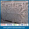 Tabique de la pantalla del metal del espejo del acero inoxidable del oro de Rose