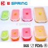 Conteneurs de stockage de nourriture repliables Ensemble de boîtes Premium (4 tailles différentes) Boîte à lunch en silicone