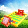 Campo di calcio gonfiabile popolare di gioco del calcio del sapone dell'acqua per il gioco di sport