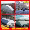 Tienda del polígono con el acondicionador de aire para el almacenaje de la exposición del abastecimiento del acontecimiento