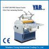 Manual de la serie K de alta calidad dobles caras máquina laminadora de hojas de papel
