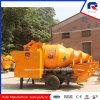 Service après-vente local fourni dans l'Inde de la pompe de mélangeur de béton