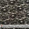 Black Silver Lurex tissu dentelle de gros (M5030-Y)