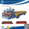 CER genehmigte vorgestrichene galvanisierte gewölbte Metalldach-Panel-Fliese-Rolle, die Maschinen bildet