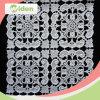 綿の刺繍のレースファブリック化学レースファブリック