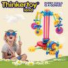 Children Plastic Building BlocksのためのDIY Plastic Education Toy