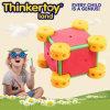 Brinquedo colorido dos blocos de apartamentos para o brinquedo da instrução dos miúdos