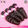 バイヤーの好みの質の緩い巻き毛の波のペルーのバージンの毛