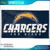 Drapeau de x5 NFL du logo officiel 3 d'équipe de football de San Diego Chargers '