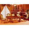 Tableau dinant en bois avec la présidence dinante en bois pour les meubles à la maison (H807)