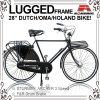 28-дюймовый внутренний 3 скорости голландский велосипед для мужчин (дни-2817S)