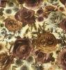 Букет из роз, шторки, на кровать и диван ткань, используется для текстильных изделий и одежды, распечатать ткань