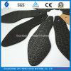 Suola di scarpa di gomma nera