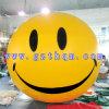PVC-gelbe Smiley Gesichts-im Freienbekanntmachenballone