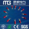 Terminals van de Spade van ISO 9001 de Solderless Geïsoleerdee