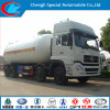 Carro de petrolero de China 8*4 35cbm LPG