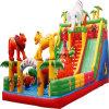 Salto inflável da casa inflável do salto para crianças
