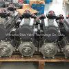 CF8/CF8m 3PC Kugelventil mit pneumatischem Stellzylinder