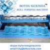 O painel do telhado de Kexinda vitrificou o rolo da telha que dá forma à máquina