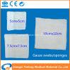 Medical gaze de algodão 4x4 Marcação& ISO aprovado