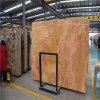 Lastre del marmo dell'oro di Karen & mattonelle, mattonelle di marmo naturali dorate