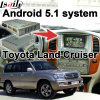 Android 5.1 sistema de navegación GPS de Verificación de Toyota Land Cruiser 100 etc Video Interface