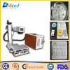 машина маркировки лазера волокна CNC 20W для доски знака металла