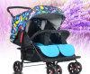 Schöne moderne klassische Doppelsitz-Baby-Spaziergänger Pram, EntwerferPram, Laufkatze-Baby-Spaziergänger