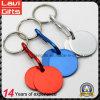 Buntes Metalllaufkatze-Großhandelszeichen prägt Keychain
