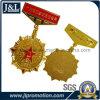 高品質の光沢がある金張りの銅の軍の軍隊メダル