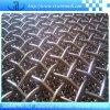 曲がるステンレス鋼のひだを付けられた正方形の網をロックしなさい