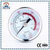Manometro meccanico di pressione differenziale del manometro dell'estremità aperta di abitudine