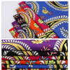 Tissu estampé par coton 100% exotique indien populaire neuf de type de vente en gros de tissu de 2016 de vêtement textiles de tissus