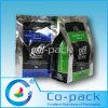 Sacco di plastica stampato di imballaggio per alimenti del rinforzo della parte inferiore di colore