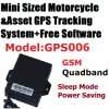Internal Antenna Motorcycle GPS Tracker