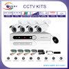 4CH DVR комплект автономного наблюдения Безопасность ИК камера ночного видения системы (CE, FCC, RoHS)