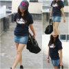 Lady&acutes Shirt-Frauen-beiläufige Abnutzung