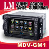 2 Lärm-Auto-DVD-Spieler maßgeschneidert für GMC (GM-1)