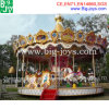 Езды Carousel парка атракционов, роскошные езды Carousel для сбывания (BJ-CR05)