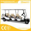 シャンペン8の乗客の電気ゴルフ車