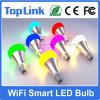 Intelligente WiFi LED Glühlampe Dimmable E26/E27 5W oder 7.5W RGBW WiFi intelligente LED Birne arbeitet mit dem Alexa Echo, das durch Smartphone Ios u. androides Google Haus Fernsteuerungs ist