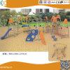 Structure en acier de plein air de l'escalade avec toboggan pour les enfants HX1503I