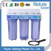 Тройной ступени фильтра водой домашних хозяйств с более сильным очистить корпус
