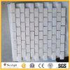 Mosaico di pietra di marmo bianco per le mattonelle pavimento/della parete
