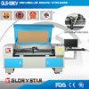 Máquinas de estaca tecidas computarizadas do laser da câmara de vídeo da etiqueta (GLS-1080V)