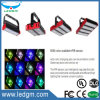 각 조정가능한 모듈 유형 50W 100W 150W 200W 300W 90-305V LED 갱도 주차 도로 빛